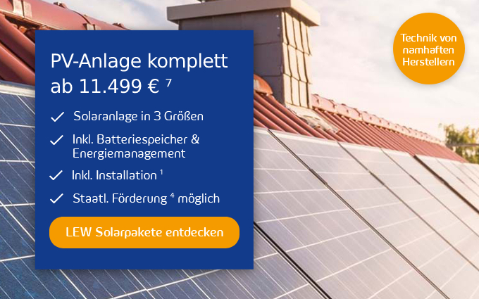 LEW Solarpakete Popup Rabattaktion Desktop